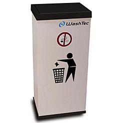 Affaldsbeholder med WashTec logo